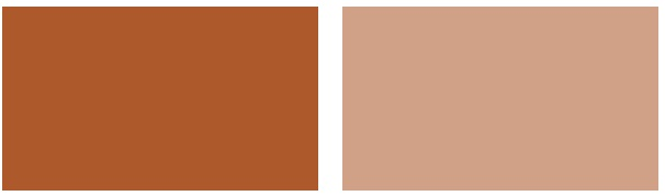 There are very very few nice peach paint colors out there that